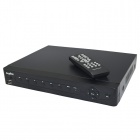 SANNCE 3-in-1 8-CH AHD DVR + 8 x 800TVL Waterproof Cameras w/ Night Vision, 500GB HDD - NTSC Country