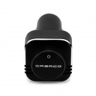 CRERCO C100 Bluetooth Headset / Air Purifier w/ Car Charger, Smart Power On/Off - Black + Silver