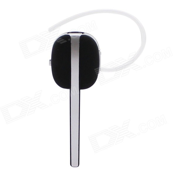Universal Bluetooth V4.0 In-Ear Style Headphone w/ Voice Dialing & Reminder - Black + Silver