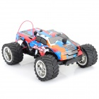 NanSheng 8808A 1:20 Scale 3-CH 27MHz High Speed R/C Cross-Country Car - Blue + Black + Multi-Color