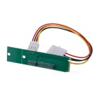 Free-Drive M.2 NGFF to PCI-E X4 Adapter Card for Desktop PC - Green