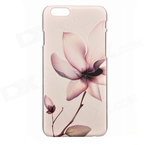 Blooming Flower Pattern PC Back Case for IPHONE 6 / 6S