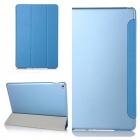 Hot Sell Protective PU Smart Case with Stand for IPAD AIR 2 - Blue
