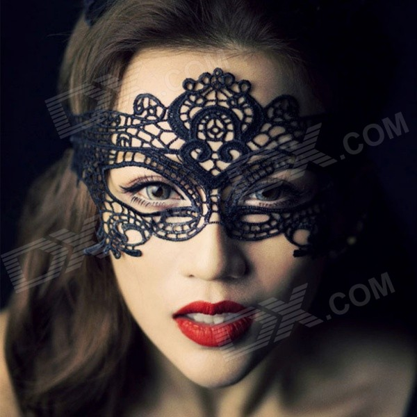 Trucco Halloween Catwoman.Women S Sexy Seductive Lace Face Mask For Halloween Costume Makeup Party Black