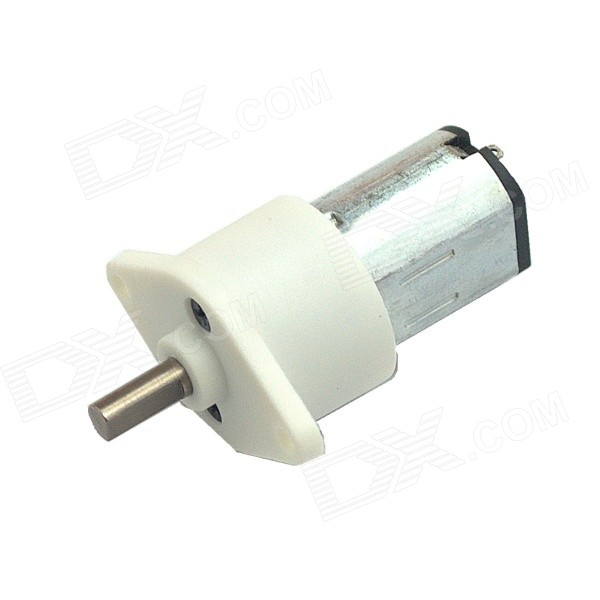GM15-N20 DC 6.0V / 160RPM Large Torque Gear Motor for Robot - White