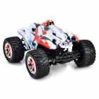 8805G 3-CH 1:14 High-speed Off-Road R/C Car - White + Red