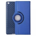 Beskyttende TPU Veske m / kortspor / 360 graders roterende stativ for iPad Air 2 - Deep Blue