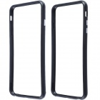 Protective Plastic Bumper Frame Case for IPHONE 6 Plus - Black