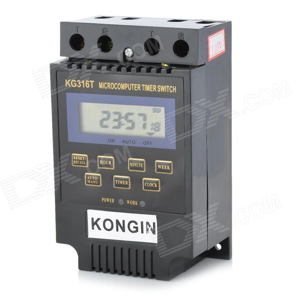 "1.9"" LCD Micro-Computer Electric Power Timer Switch Time Controller with Clock (AC 110V)"