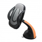 360° Rotatable Car Vehicle Suction Cup Mount Holder Bracket for GPS / IPHONE 6 - Black + Orange