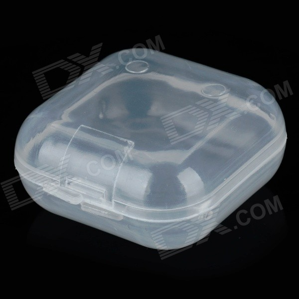 Buy Portable Plastic Sound-proof Ear Plugs Storage Box - Transparent with Litecoins with Free Shipping on Gipsybee.com