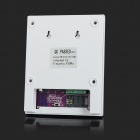 "2.5"" LCD GSM + PSTN Dual Network Security Alarm System - White + Black (EU Plug)"