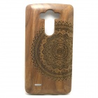 Patterned-Detachable-Protective-Wood-Back-Cover-Case-for-LG-G3-Brown