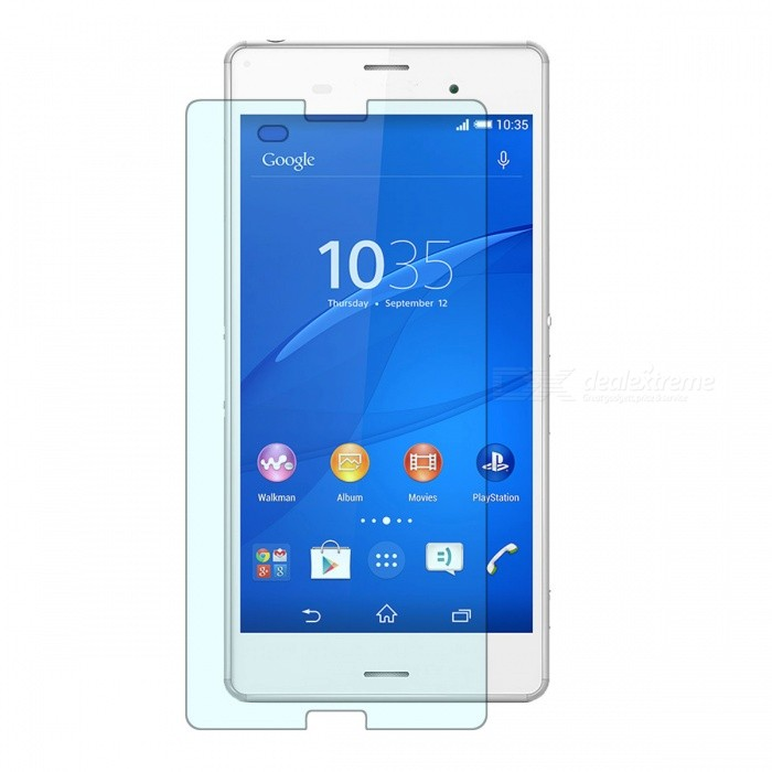 Tempered Glass Screen Protector Film for Sony Xperia Z3 - Transparent