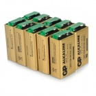 GP-1604A-Non-rechargeable-6LF22-9V-Alkaline-Batteries-Gold-2b-Black-(10-PCS)