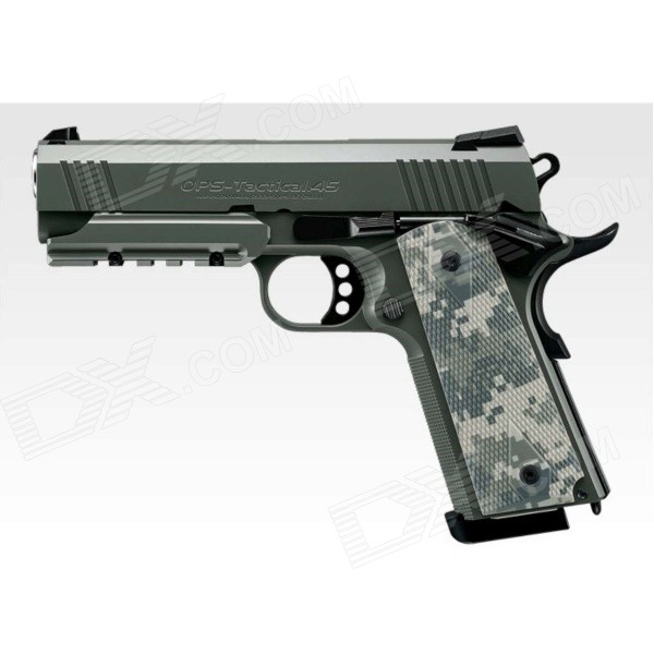 Buy Tokyo Marui Foliage Warrior Pistol-Dark Green with Litecoins with Free Shipping on Gipsybee.com