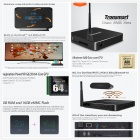 Tronsmart Draco AW80 Meta Octa-Core Android 4.4 Google TV Player w / RAM 2GB, 16 GB ROM, EU Plug