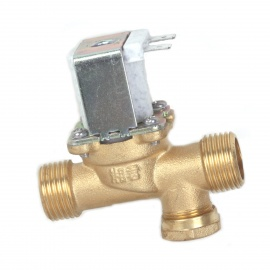 ZnDiy-BRY-24V-DC-G12-NC-Brass-Inlet-Solenoid-Valve-w-Water-proof-Case-for-Water-Control-White
