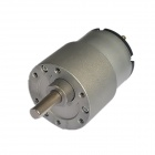 GB37-520 12V 70RPM Micro DC Gear Motor for Large Torque Robot - Silver