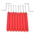 AML020159-8-in-1-Stainless-Steel-Kaba-Mechnical-Lock-Picking-Tool-Set-Red-2b-Silver
