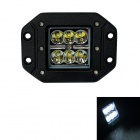 GULEEK F018BS 18W 1260lm 6000K 6-LED White Spot Light Working Lamp for Offroad Car