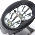 GULEEK GLK-20W 20W 1700lm 6000K 2-LED White Spot Light Oval Working Lamp (10-30V)