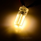 G4 3W LED Dip Plug-in Light Bulb Warm White 3200K 260lm SMD 3014 (DC 12V / 2PCS)
