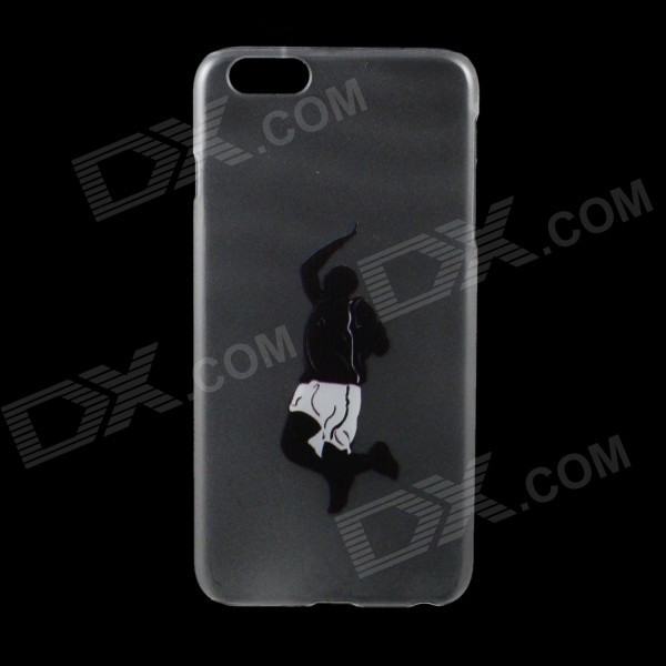 "Slam Dunk Pattern PC Back Case for IPHONE 6 PLUS 5.5"" - Black"