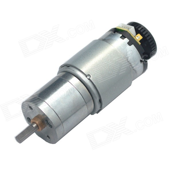 12V 125RPM Encoder 41-Line DC Micro Gear Motor - SilverDIY Parts &amp; Components<br>Model25GA-M28N-34-12D8Quantity1 DX.PCM.Model.AttributeModel.UnitForm ColorSilverMaterialABS + copper + iron + steelChipsetDC driveEnglish Manual / SpecNoOther FeaturesNoCertificationN/APacking List1 x Gear motor<br>