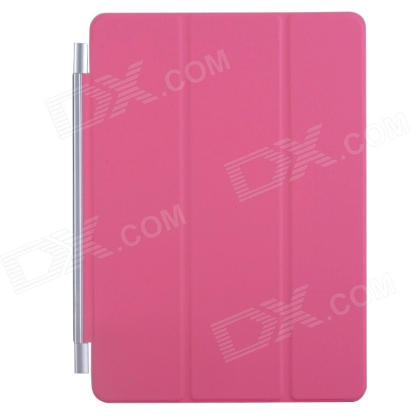 Ultra-thin Protective PU + Plastic Cover w/ Auto Sleep Function for IPAD AIR