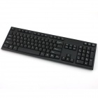 YDL-G-5 High Quality USB 2.4GHz Office Wireless Waterproof Keyboard + Mouse Set - Black