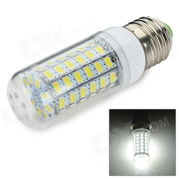 E27 10W 700lm 69-SMD 5730 LED Cold White Light Bulb (220~240V)