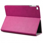 Hat-Prince Auto Sleep & Wake Up Designed Protective Case w/ Card Slots for IPAD AIR 2 - Deep Pink
