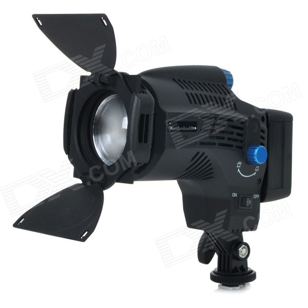 NanGuan CN-8F 560lm 5600K Zooming Focusing Dimmable LED Fresnel Light for Studio Video Film Lighting