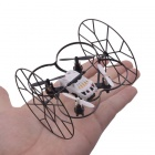 NEJE 2.4GHz 4-CH IR Quadcopter w/ Gyro / Wall Climbing Function - White + Black