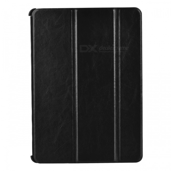 Protective PU + PC Case w/ Stand for IPAD AIR 2 - BlackIpad Cases<br>Form  ColorBlackQuantity1 DX.PCM.Model.AttributeModel.UnitMaterialOthers,PU + PCShade Of ColorBlackCompatible ModelsIPAD AIR 2DesignSolid Color,With StandTypeCases with Stand,Full Body CasesAuto Wake-up / SleepYesOther FeaturesProtects the device from dust, shock and scratches.Packing List1 x Case<br>