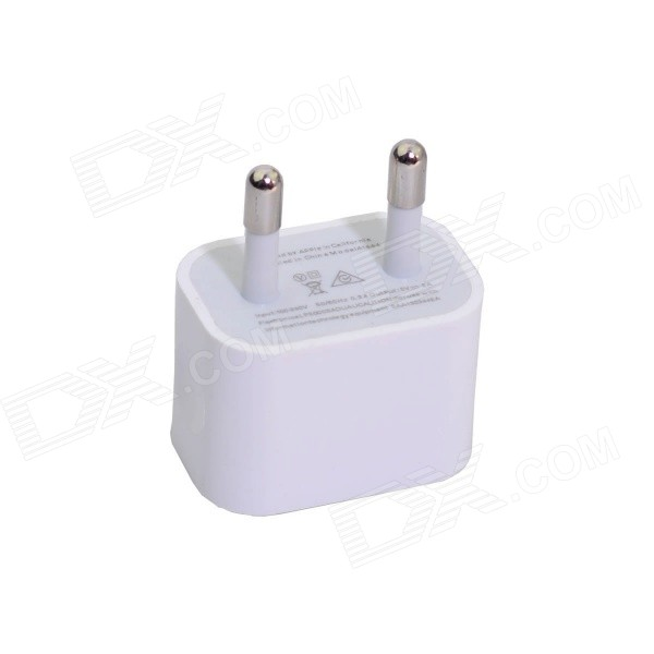 iphone plug adapter eu power adapter w usb output for iphone 6 6 plus 12137