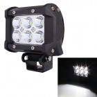 MZ-4-18W-1530LM-6000K-White-Spot-Beam-LED-Worklight-Bar-for-Truck-UTV-4WD-Offroad-Driving-Lamp