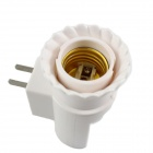 JL-020 US Plugs E27 LED PIR Motion Sensor Lamp Holder - White
