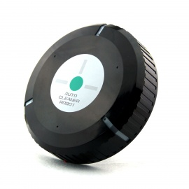 Auto-Mute-Smart-Sweeping-Mopping-Robotic-Dust-Cleaner-Black-(4-x-AA)