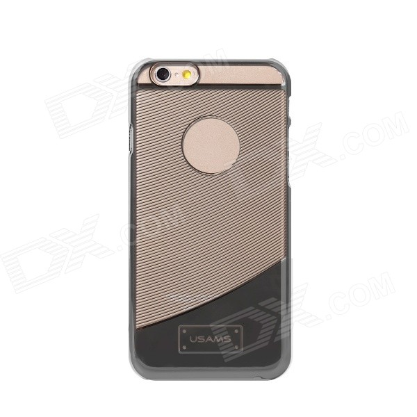 USAMS Protective Electroplating Plastic Back Case for IPHONE 6 - Grey