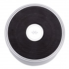 Aoluguya B3 Waterproof Bathroom Bluetooth Speaker w/ Wireless Microphone, NFC, Card Reader - Silver