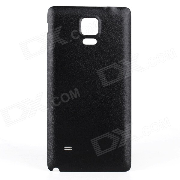 WPC Qi Standard Wireless Charger Receiver Back Case for Samsung Galaxy NOTE 4 - Black