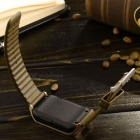 1.54'' Capacitive Screen Wireless Bluetooth Smart Wirst Watch for Samsung / Sony + More - Golden