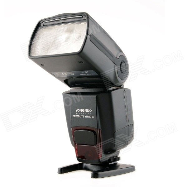 Buy YONGNUO YN560 IV Wireless Master Speedlite for Canon + More - Black with Litecoins with Free Shipping on Gipsybee.com