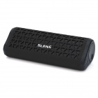 SLANG X7 Portable Outdoor Bluetooth Subwoofer Speakers w/ FM / TF / Hands-free - Black