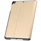 Mr.northjoe Protective PU Leather + PC Case w/ Stand + Auto Sleep for IPAD MINI 1 / 2 / 3 - Golden