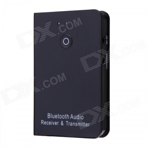Портативный 3,5-мм Jack Wireless A2DP Bluetooth v4.0 Transmitter - Черный