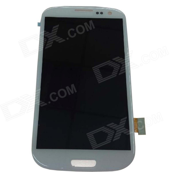Buy Replacement LCD Touch Screen Module for Samsung S3 i9300 - White with Litecoins with Free Shipping on Gipsybee.com