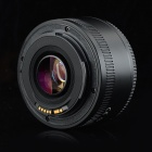 YONGNUO 0.15X 50mm AF / MF Mode Auto Focus Lens for Canon Camera - Black